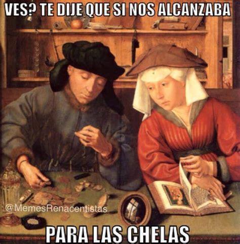 descubre los mejores memes hechos  pinturas renacentistas