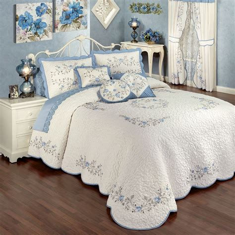 floral bedspreads and comforters antique charm floral oversized quilted bedspread bedding