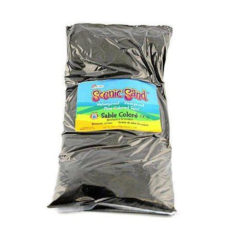 colored sand walmart act 205 va 5 lb bag of black colored sand scenic sand