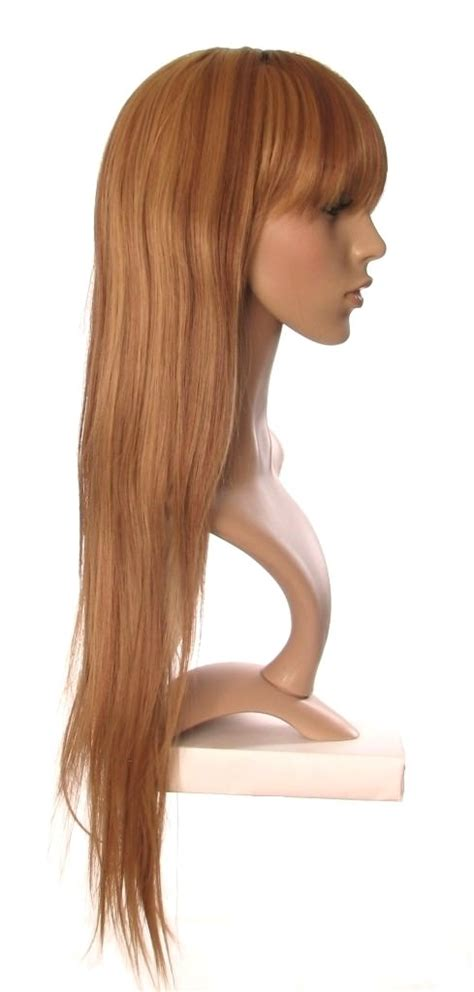brown with blonde highlights wig ivory extra long brown wig with blonde highlights very