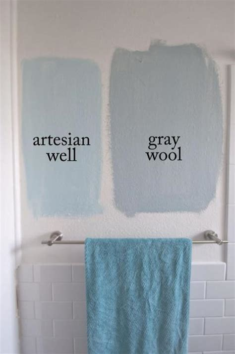 Calming Bathroom Paint Colors by Let S Swatch Calming Paint Colors For A Tiny Bathroom