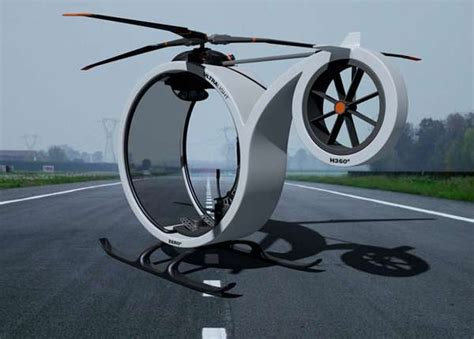 circular single seat choppers zero helicopter concept