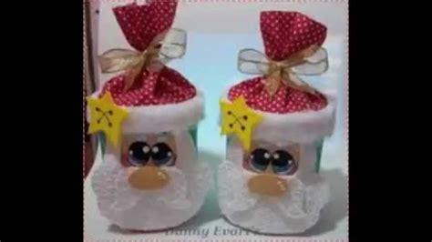 floreros de unicel dulceros para navidad youtube