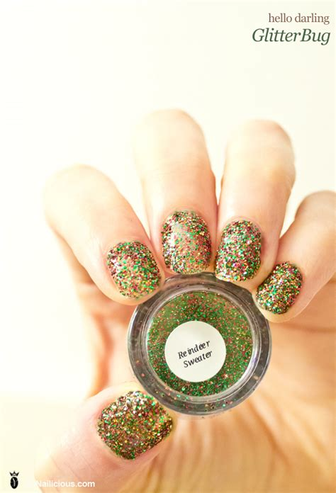Hello Darling Glitterbug Nails How To | hello darling glitterbug nails how to
