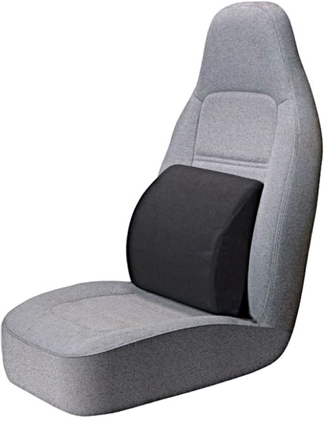 Cushion Puts The Remote In Your Seat by Portable Lumbar Seat Cushion Black Automotive