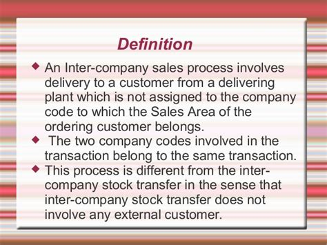 inter company billing in sap basics
