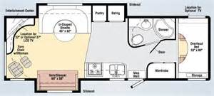 Class C Motorhome Floor Plans by Large Motor Home Floor Plan Trend Home Design And Decor