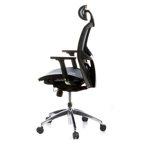 poltrone da ufficio ergonomiche sedia ergonomica venus pro regolabile 100 in tessuto a