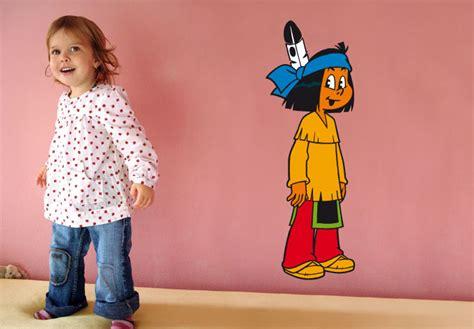 Wandtattoo Kinderzimmer Yakari by Wandtattoo Yakari Der Kleine Indianerjunge Als Sch 246 Nes