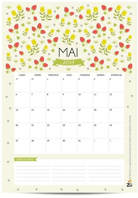 Calendrier 7 Mai Calendar May Calendar And May 2013 Calendar On
