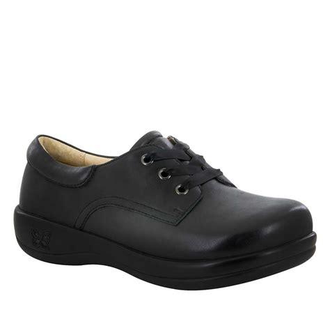 alegria shoes alegria kimi pro black nappa lace up shoe free shipping