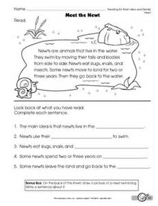 ideas about free main idea worksheets 2nd grade easy