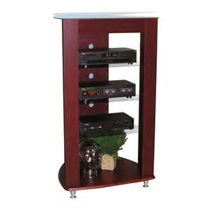 Audio Racks And Stands 4d Concepts 64623 Entertainment Stand Audio Rack Atg Stores
