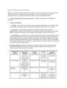 best photos of quality assurance plan template