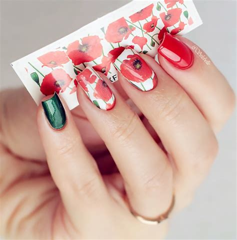 Nail Bonbon Water Decals Xf Series Part 2 aliexpress buy nail water decals sticker flower pattern xf1390 nail stickers