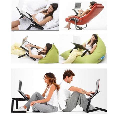 Meja Laptop Portable E Table Laptop Desk With Mini Fan Cooler Ringan meja laptop portable table with mouse desk length 42 x 26