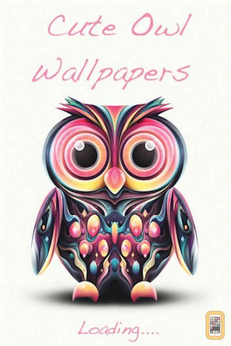 wallpaper iphone owl cute free owl screensavers wallpaper wallpapersafari