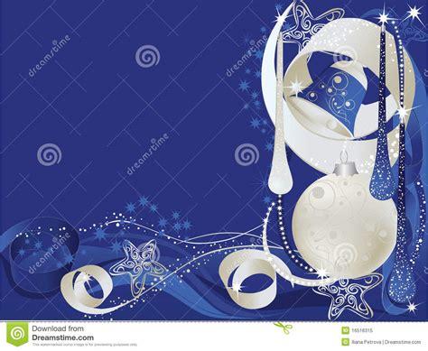 Delightful 50 Off Christmas Cards #6: Tarjeta-de-navidad-azul-y-de-plata-16516315.jpg