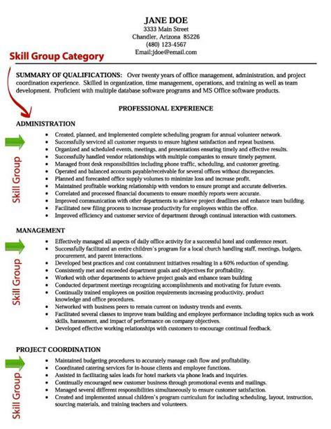 Resume Skill Writing