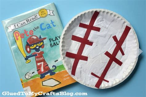 Paper Plate Craft Book - 49 best baseball unit theme slp images on