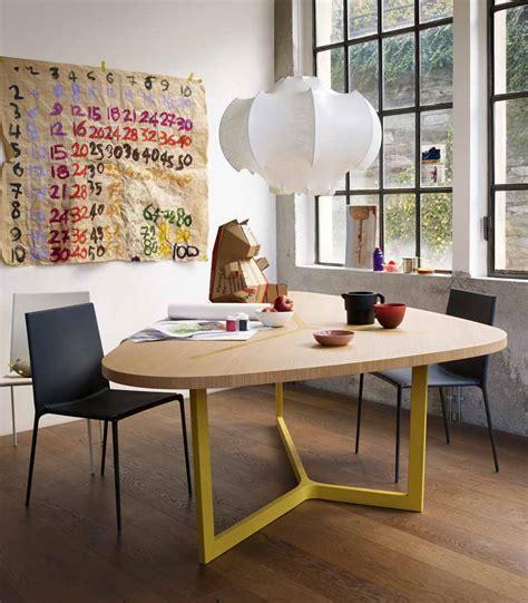 seven table by jean massaud b b italia wood