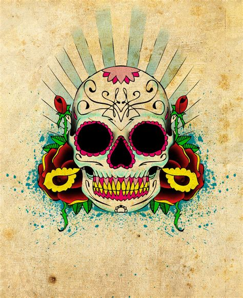 mexican skull tattoo designs best tatto design september 2012