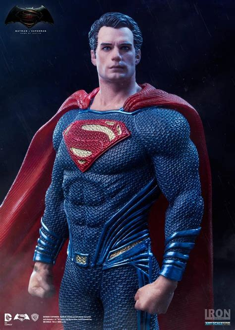 Batman V Superman 1 iron studios superman quot batman v superman of justice quot