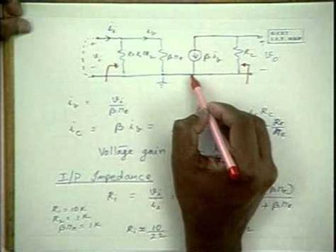 transistor lifier small signal analysis rvr be 22 bjt small signal analysis