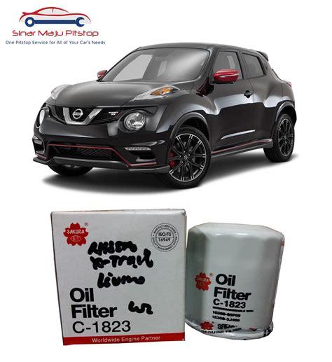 Filter Udara Nissan Juke Ori 1 jual filter saringan oli nissan livina juke evalia original sinar maju pitstop