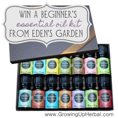 Gardening With Essential Oils Win A Beginners Kit Of S Gardens Essential Oils