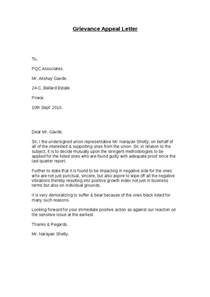 Appeal Letter Against Suspension Invite To Disciplinary Appeal Letter Infoinvitation Co