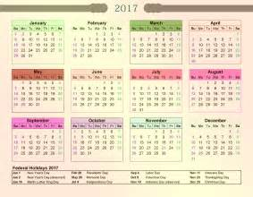 Calendar 2018 Kerala Government Federal Calendar 2017 With Holidays 2017 Calendar