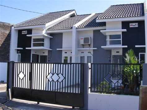 contoh pagar rumah minimalis teranyar renovasi rumahnet