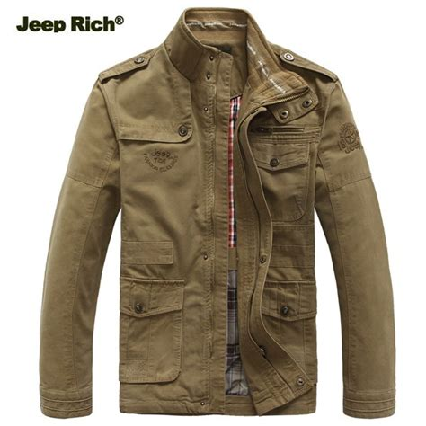 jeep rich jacket jeep rich size s 5xl outdoor autumn cotton blend