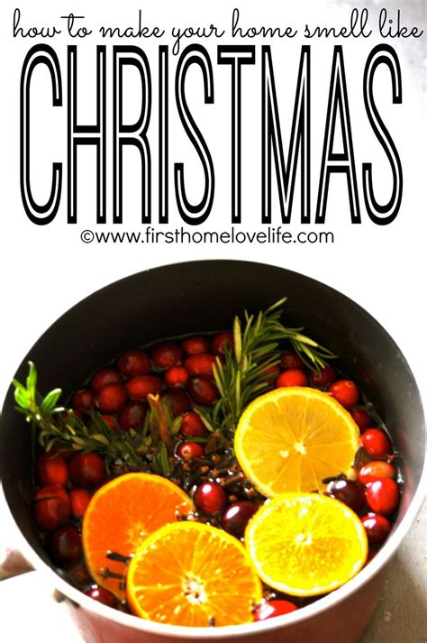 orange smell christmas tree make your home smell like trees apple cider and vanilla