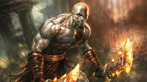 chaos god of war blades of chaos god of war wallpaper