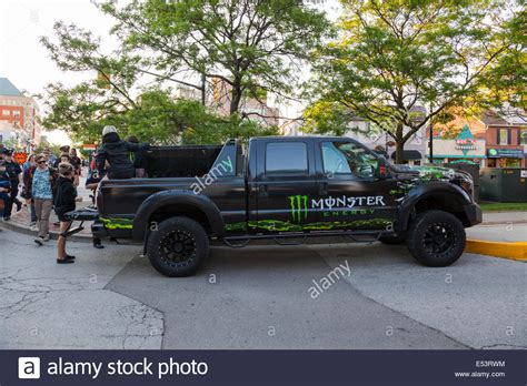 monster truck music a monster energy truck at the sound of music festival at