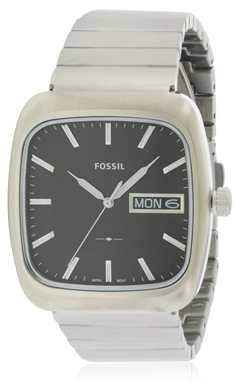 Fossil Fs5331 3 fossil rutherford stainless steel mens fs5331 jacobtime