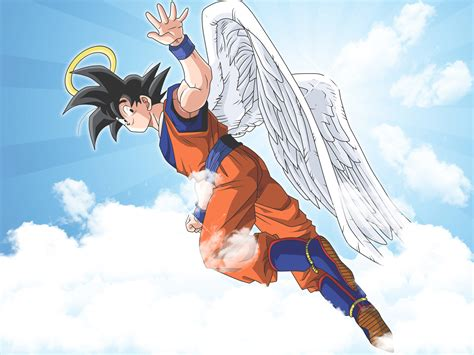 imagenes de goku angel goku angel