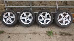 Peugeot 407 Tyres Peugeot 407 Sw 17 Inch Alloy Wheels With Tyres In