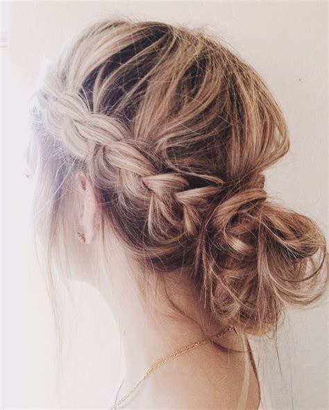 cornrows and loose bun pinterest beccaadownss hair pinterest