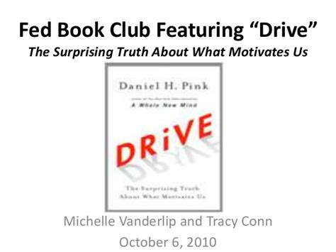 libro drive the surprising truth drive book club book overview