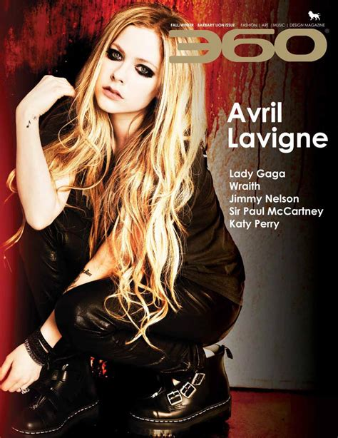 Avril Lavigne Does Day Magazine by Avril Lavigne 360 Magazine Fall Winter 2013 Issue