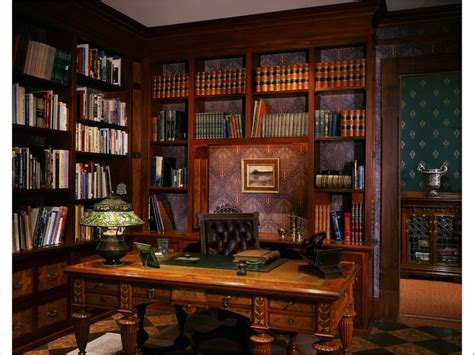 Lawyers Bookcase Victorian Gothic Interior Style Fiction Elliott S Office