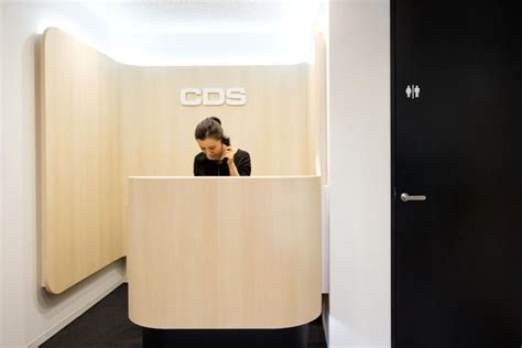 Narrow Reception Desk Aeccafe Archshowcase