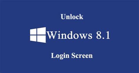 windows 8 1 password reset hack windows 8 password recovery how to unlock windows 8 1