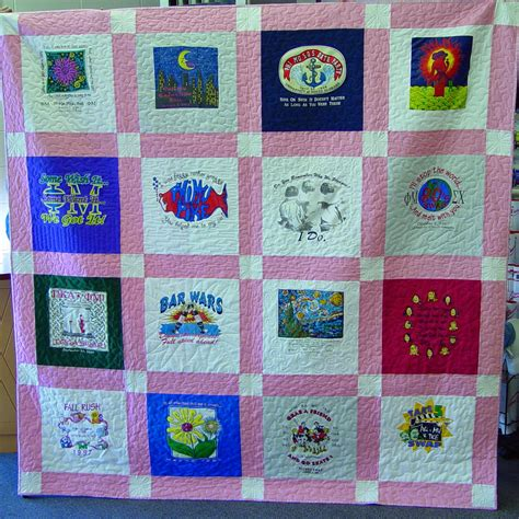 T Shirts To Quilts by Quilt Style Options Andrea Handmade