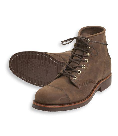 l l bean s katahdin iron works engineer boots brown