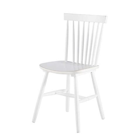 stuhl vintage stuhl im vintage stil aus kautschukbaum wei 223 fjord