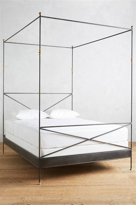 anthropologie bed frame brass finial bed anthropologie